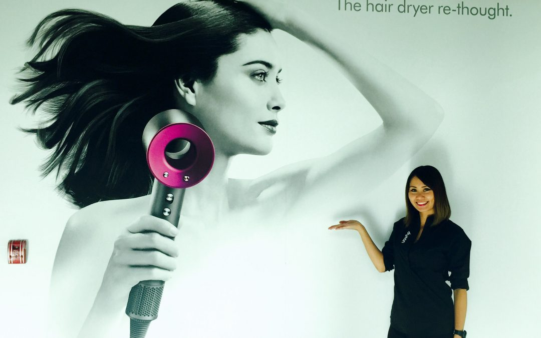 RnR Brand Ambassadors Show Off the New Dyson Supersonic